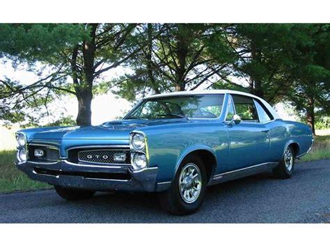 Pontiac 1967 Gto by 1967 Pontiac Gto For Sale Classiccars Cc 636292