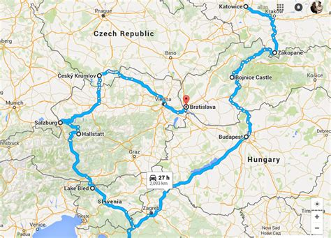 winter road trip in east central europe ebook chasing
