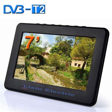 Tv Led Digital Dvb T2 aliexpress buy 2015 new 7 inch dvb t2 dvb t digital and analog mini led hd portable tv all