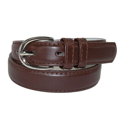 toddlers basic 1 inch leather belt by ctm 174 children s