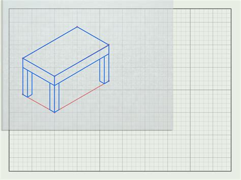 How To Draw 3d Furniture by How To Draw Furniture In 3d With Pictures Wikihow