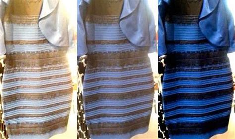 the dress is blue and black says the girl who saw it in the dress white and gold or blue and black frock divides