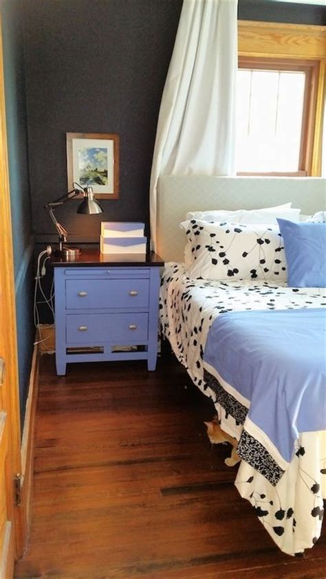 periwinkle bedroom bedroom in black white and periwinkle blue the
