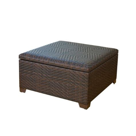 Outdoor Storage Ottoman Bench with Indoor Storage Benches Great Price Best Wicker Brown Indoor Outdoor Storage Ottoman