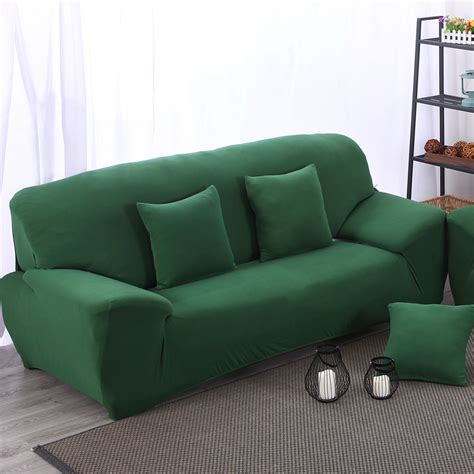 Sofa Bed Leter L green sofa covers decor green jersey t cushion sofa