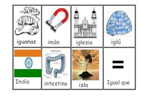 imagenes de palabras que empiecen con i alfabeto iconografico imagenes con nombre