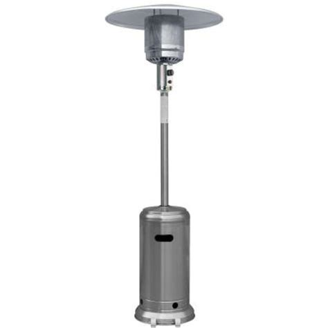 Garden Radiance 41 000 Btu Stainless Steel Full Size Gas Patio Heaters B Q