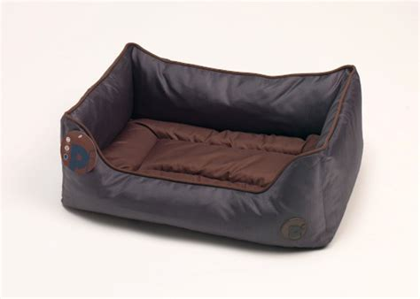 waterproof bedding petface waterproof oxford pet bed puppy dog luxury oval or