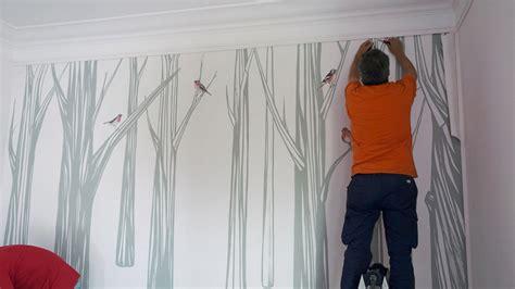 Kertas Pelapis Dinding Ini Dia Cara Mudah Memasang Kertas Dinding Untuk