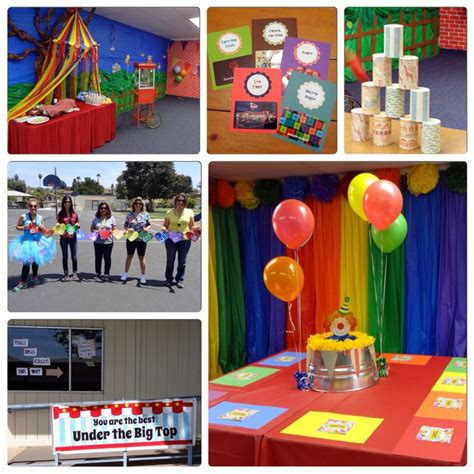 school themed games carnival or circus theme party teacher appreciation