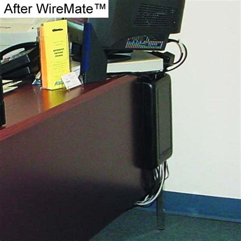 Wiremate Cord Organizer Wire Mate Cable Organizer Desk Wire Organizer