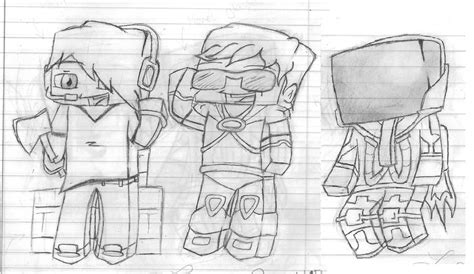 minecraft coloring pages skydoesminecraft deadlox free colouring pages