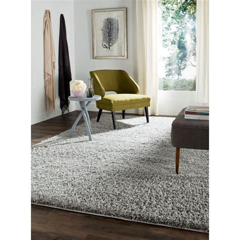 10 X 14 Charcoal White Gray Rug by Athens Shag Light Gray 10 Ft X 14 Area Rug And Products