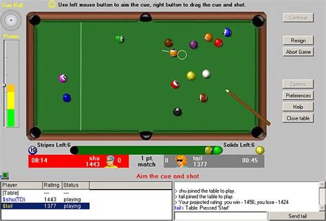 Play Pool And Win Money - play pool 8 ball online internet billiard games