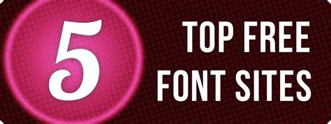 best websites for free fonts top 5 most reliable free font pixlr