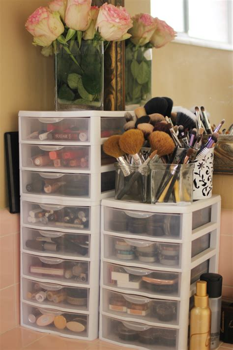 cheap organization ideas 25 best cheap makeup organization ideas on pinterest