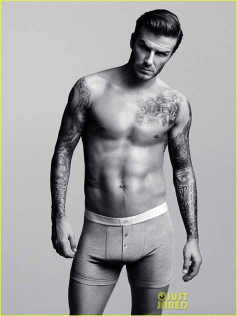 David Beckhams Armani Ad Revealed by David Beckham Ads For H M Revealed Photo
