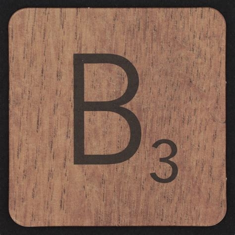 scrabble b scrabble coaster letter b flickr photo
