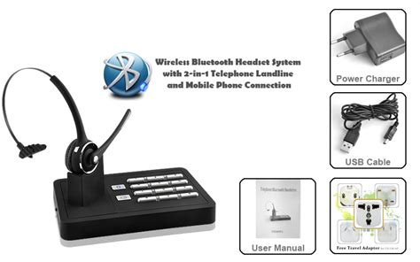 Desk Phone Bluetooth Adapter by Bluetooth Headset Desk Phone Adapter Whitevan