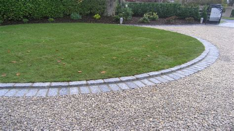 round patio pavers gravel driveway landscaping ideas gravel driveway edging interior designs