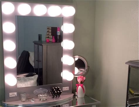 Black Vanity Set With Lights by Astounding Black Vanity Set With Lights Ideas Best Idea