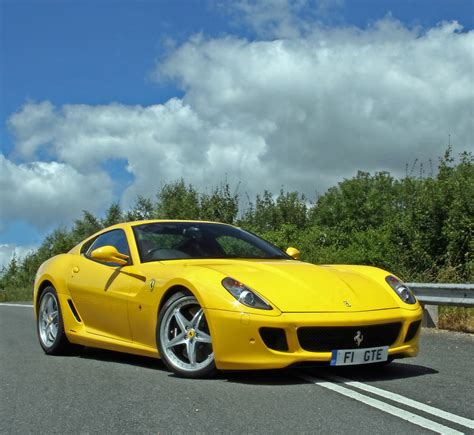 Yellow Ferrari Car Pictures Images 226 Super Yellow