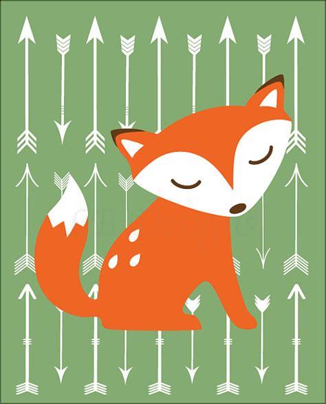 Nursery Decor South Africa Woodland Nursery Fox Nursery Decor Arrow Nursery Boy