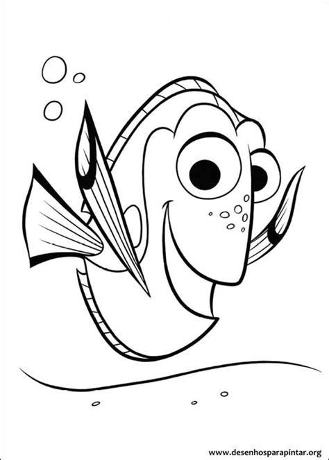 finding dory  coloring pages  print colorpagesorg