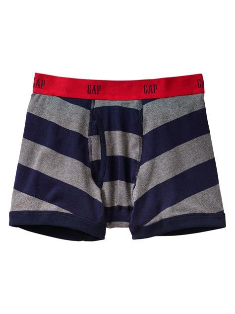 Brief Boxer Gap Size M gap blue widestriped boxer briefs for lyst