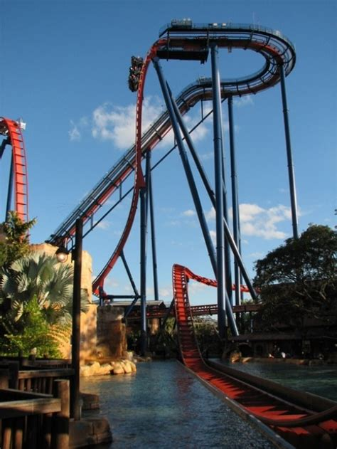 the 10 most roller coasters in central florida