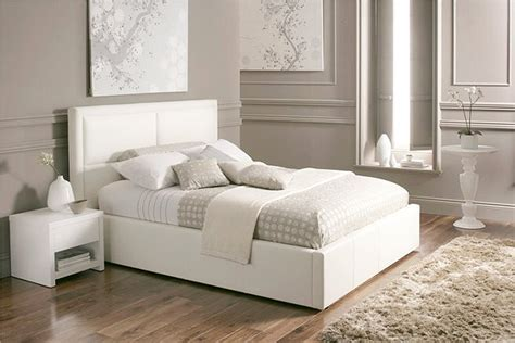 white beds beautiful white color leather beds by time4sleep freshnist