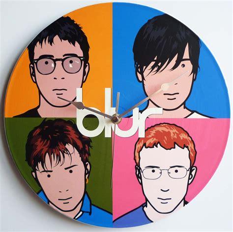 best of blur blur best of 12 vinyl record wall clock the