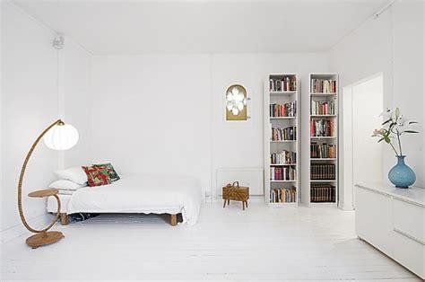 Small Apartment White Interior Simply Minimalism