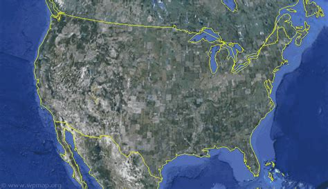 satellite maps usa satellite map of united states satellite images map