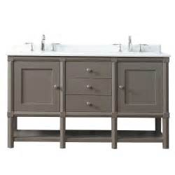 Home Depot Martha Stewart Vanity by Martha Stewart Living Sutton 60 In W X 22 In D Vanity In Brook Trout With Marble Vanity Top In