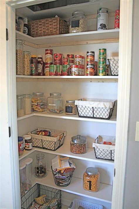 diy pantry shelving organization pinterest smalls side pantry