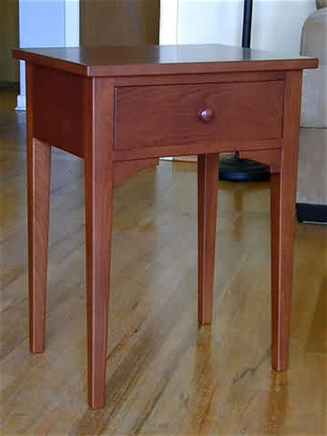 Shaker End Table Plans by Shaker End Table Plans Free Woodworking Projects Plans