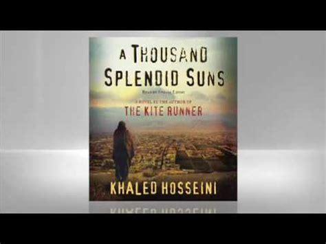 a thousand splendid suns book report khaled hosseini a thousand splendid suns