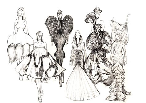 fashion illustration mcqueen mcqueen savage fashion illustration on