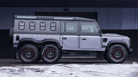 kahn land rover defender kahn design showcases civil carrier