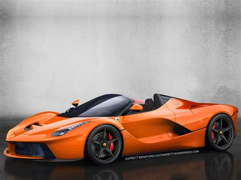 orange ferrari ferrari laferrari orange wallpaper 1600x1200 9558