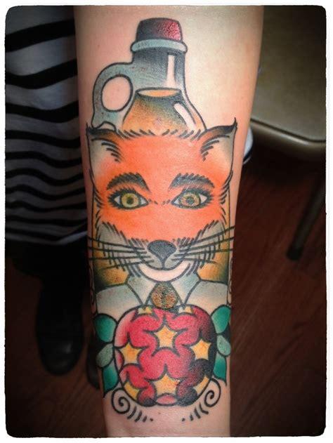 mr tattoo what fantastic mr fox tattooed by