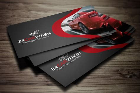 auto detailing business card template free 19 car wash business card templates free premium