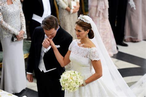 swedish royal wedding    regal glitz
