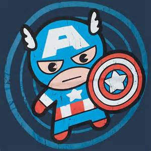 Superman Bedroom Accessories Merica Cartoon Cute Captain America Cartoon T Shirt