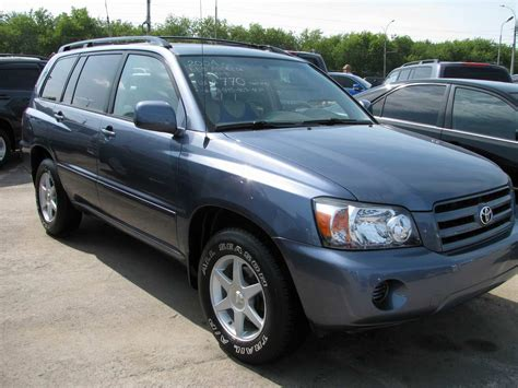 2004 Toyota Problems Used 2004 Toyota Highlander Pictures 2 4l Gasoline Ff