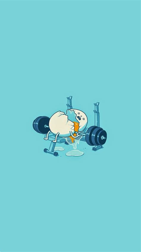 wallpaper iphone 6 gym egg workout accident funny iphone 6 wallpaper ipod