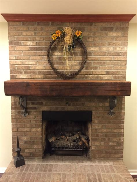 iron fireplace mantel brackets fireplaces