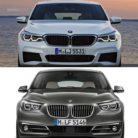Bmw 2er Gt by Photo Comparison Bmw 6 Series Gt Vs 5 Series Gt