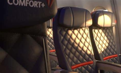 delta airbus a330 300 economy comfort delta comfort plus gets a curtain